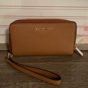 Michael Kors Wristlet with Phone slot